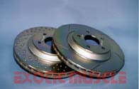 CROSS DRILLED LS1 ROTORS REAR (EACH)